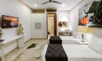 Twin Bedroom with TV - Villa Menari Residence - Seminyak, Bali