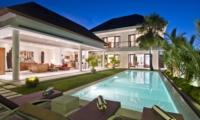 Pool Side Loungers - Villa Merayu - Canggu, Bali