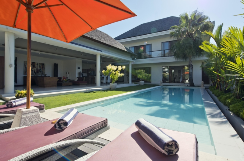 Reclining Sun Loungers - Villa Merayu - Canggu, Bali