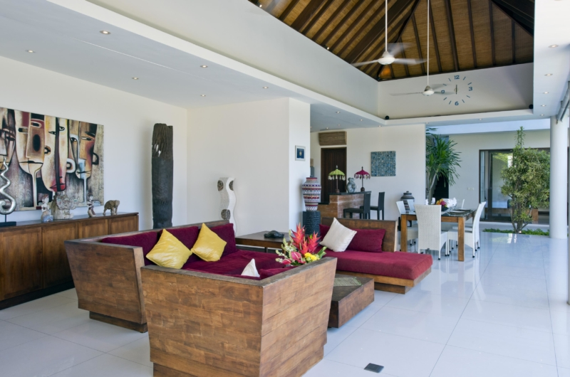 Living and Dining Area - Villa Merayu - Canggu, Bali