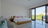 Spacious Bedroom with View - Villa Merayu - Canggu, Bali