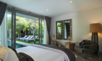 Bedroom with Mirror - Villa Mia - Canggu, Bali