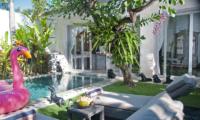 Pool Side Loungers - Villa Mia - Canggu, Bali