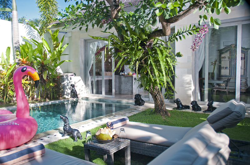 Pool Side Loungers - Villa Mia - Canggu, Bali