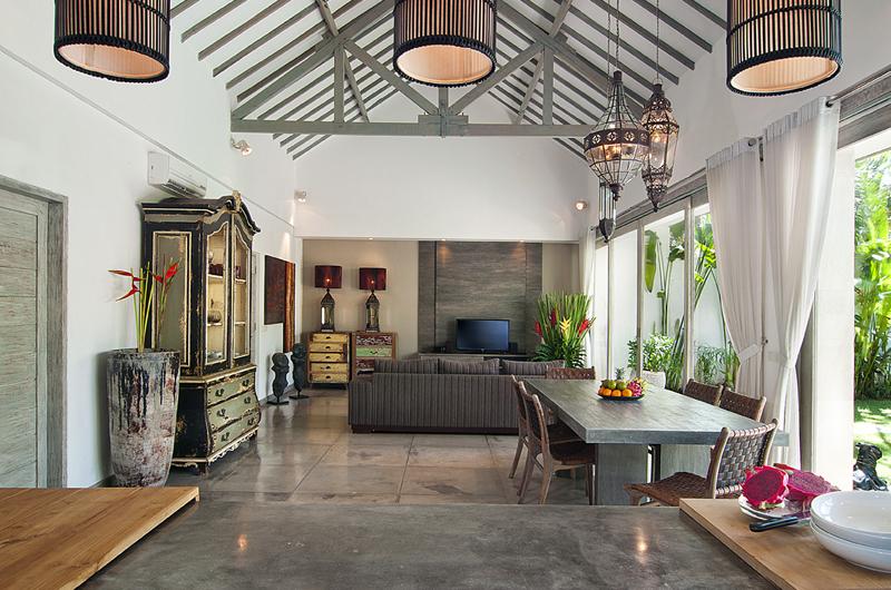 Indoor Living and Dining Area - Villa Mia - Canggu, Bali