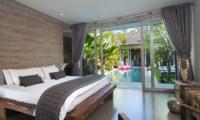 Bedroom with Pool View - Villa Mia - Canggu, Bali