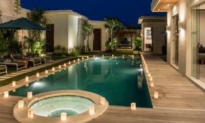 Pool at Night - Villa Miro - Seminyak, Bali