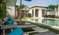 Pool Side Loungers - Villa Miro - Seminyak, Bali