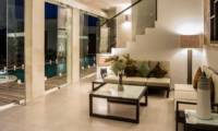 Living Area at Night - Villa Miro - Seminyak, Bali