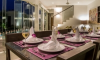 Dining Area with Pool View - Villa Miro - Seminyak, Bali