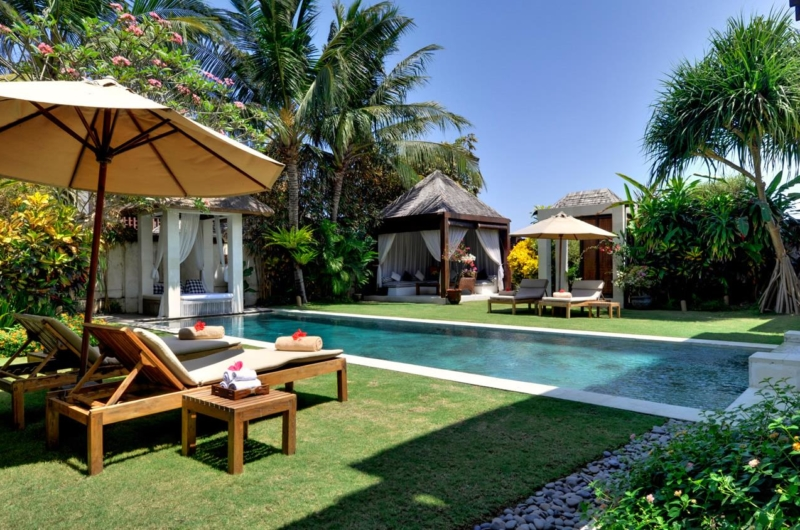 Gardens and Pool - Villa Nataraja - Sanur, Bali