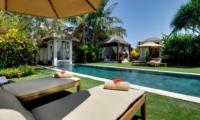 Pool Side Loungers - Villa Nataraja - Sanur, Bali