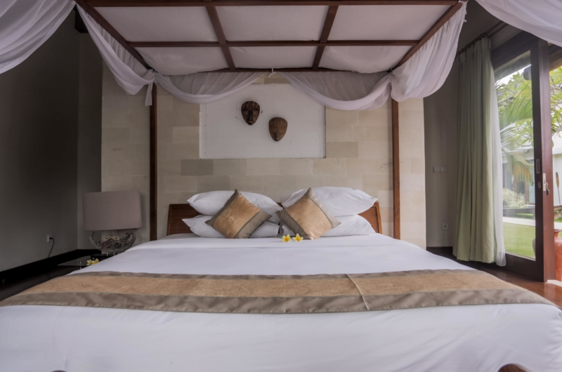 Bedroom with View - Villa Nelayan - Canggu, Bali
