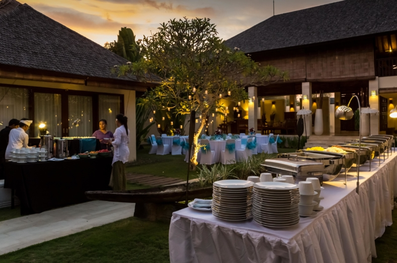 Wedding Set Up - Villa Nelayan - Canggu, Bali
