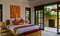 Bedroom with Table Lamps - Villa Nilaya Residence - Seminyak, Bali