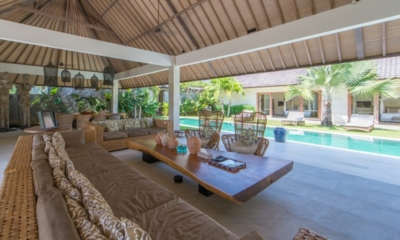 Living Area with Pool View - Villa Nyoman - Seminyak, Bali