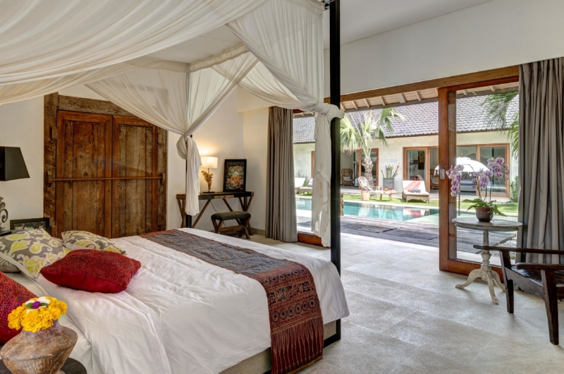 Bedroom with Pool View - Villa Nyoman - Seminyak, Bali
