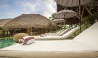 Sun Beds - Villa Omah Padi - Ubud, Bali