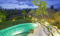 Pool at Night - Villa Omah Padi - Ubud, Bali