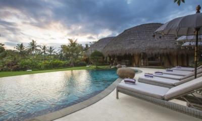 Reclining Sun Loungers - Villa Omah Padi - Ubud, Bali