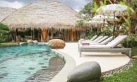 Sun Loungers - Villa Omah Padi - Ubud, Bali