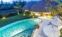 Night View - Villa Omah Padi - Ubud, Bali
