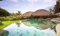 Pool Side Loungers - Villa Omah Padi - Ubud, Bali