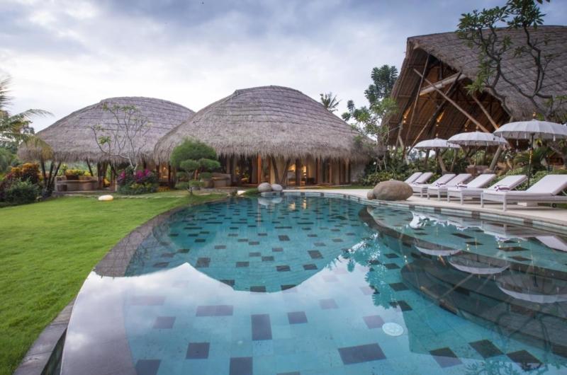 Pool at Day Time - Villa Omah Padi - Ubud, Bali