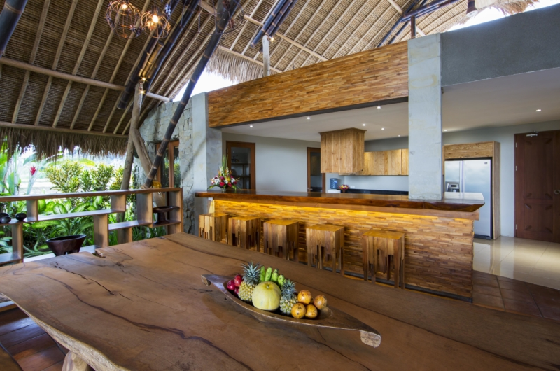 Dining Table with Fruits - Villa Omah Padi - Ubud, Bali