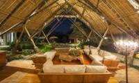 Living Area at Night - Villa Omah Padi - Ubud, Bali