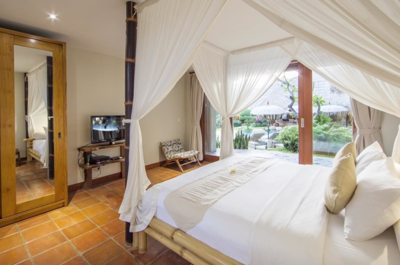 Bedroom with View - Villa Omah Padi - Ubud, Bali