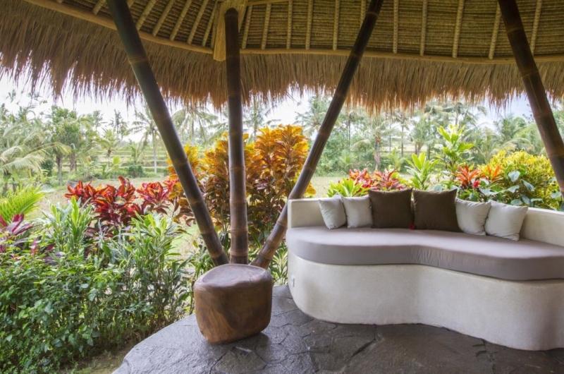 Outdoor Lounge - Villa Omah Padi - Ubud, Bali