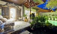 Outdoor Lounge - Villa Orchid Sanur - Sanur, Bali