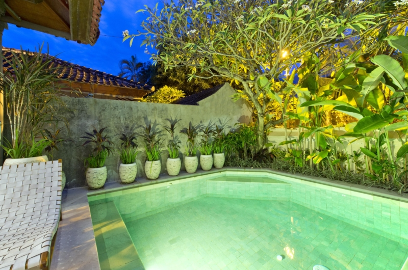 Swimming Pool at Night - Villa Orchid Sanur - Sanur, Bali