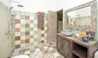 Bathroom with Shower - Villa Orchid Sanur - Sanur, Bali