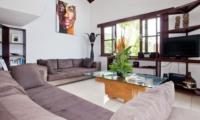 Lounge Area with TV - Villa Origami - Seminyak, Bali