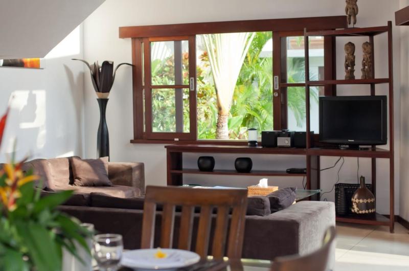 Living Area with TV - Villa Origami - Seminyak, Bali
