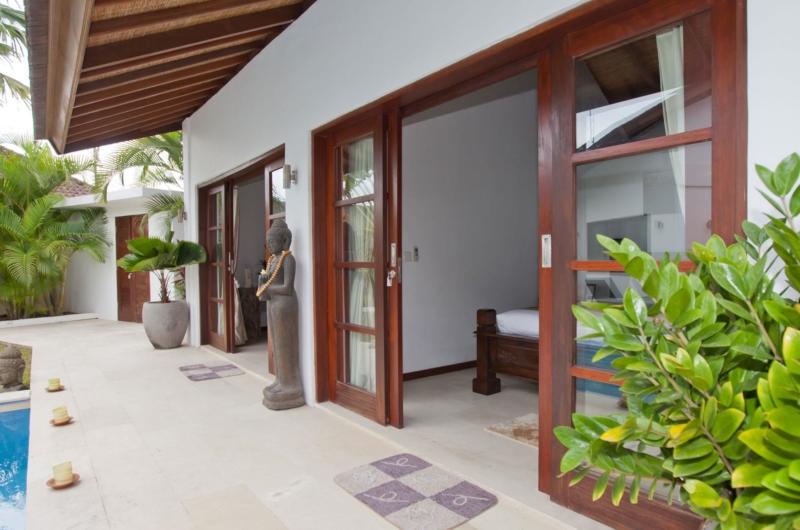 Pool Side - Villa Origami - Seminyak, Bali
