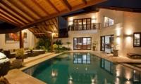 Pool at Night - Villa Origami - Seminyak, Bali
