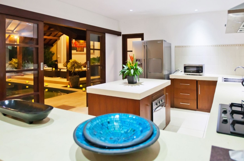 Kitchen Area - Villa Origami - Seminyak, Bali