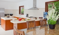 Kitchen and Dining Area - Villa Origami - Seminyak, Bali