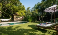 Pool Side Loungers - Villa Pandora - Seminyak, Bali