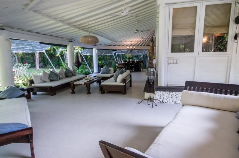 Living Area with Garden View - Villa Pandora - Seminyak, Bali