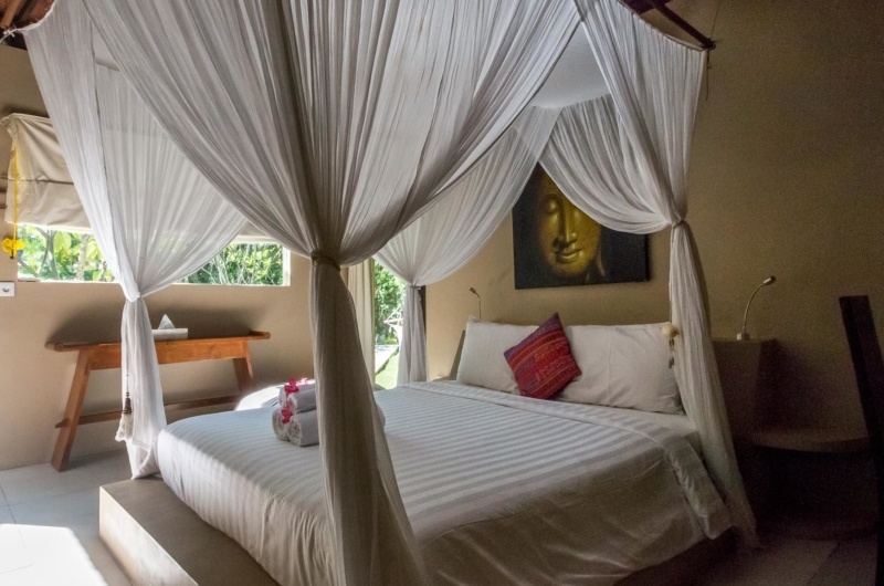 Bedroom with Four Poster Bed - Villa Pandora - Seminyak, Bali