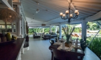 Open Plan Living and Dining Area - Villa Pandora - Seminyak, Bali