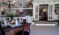 Open Plan Kitchen and Dining Area - Villa Pandora - Seminyak, Bali