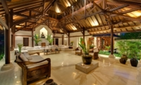 Living Area at Night - Villa Pangi Gita - Pererenan, Bali