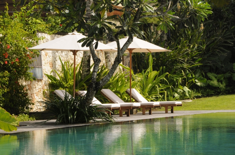 Reclining Sun Loungers - Villa Pantai Lima Estate - Canggu, Bali