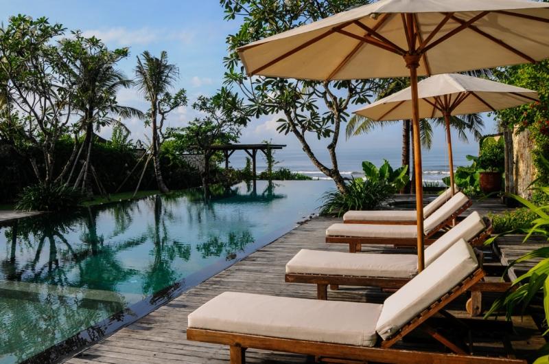 Sun Beds - Villa Pantai Lima Estate - Canggu, Bali