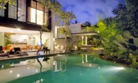 Swimming Pool at Night - Villa Paya Paya - Seminyak, Bali